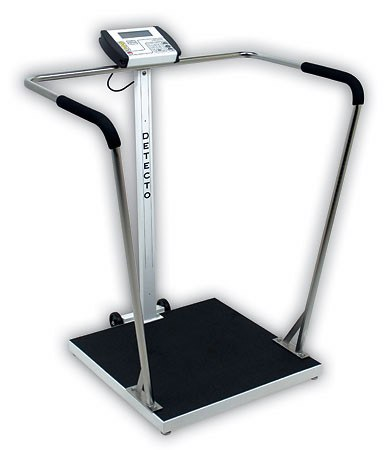 Detecto Scales Detecto 6856 Waist-High Stand-On Scale