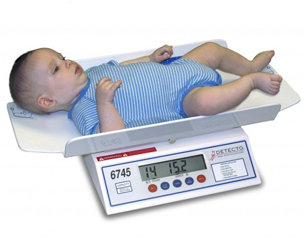 Detecto Digital Baby Scale 6745