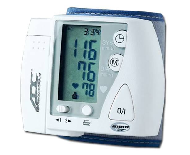American Diagnostic Corp Advantage 6016 Digital Wrist Blood Pressure Monitor