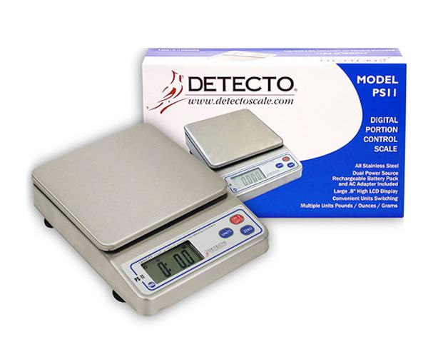 Detecto Scales Digital Portion Control Scale  PS-11