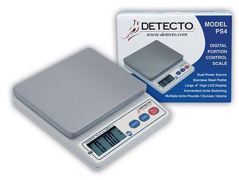 Detecto Scales Digital Portion Control Scale PS-4
