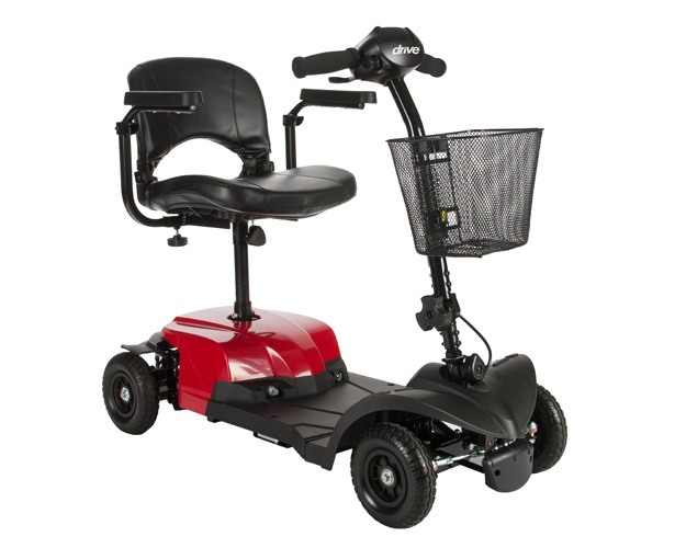 Drive Medical Bobcat 4 Wheel Transportable Scooter
