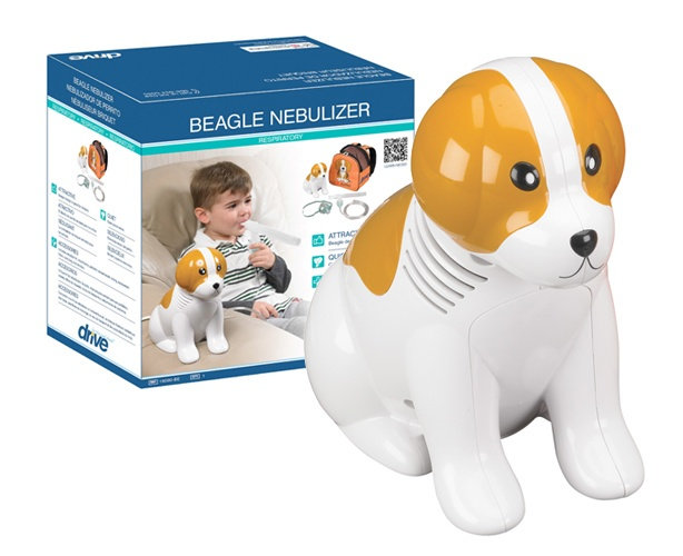 Drive Medical Pediatric Beagle Compressor Nebulizer