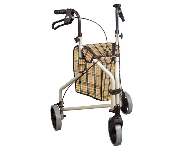 Dukal Winnie Deluxe 3 Wheel Rollator Walker