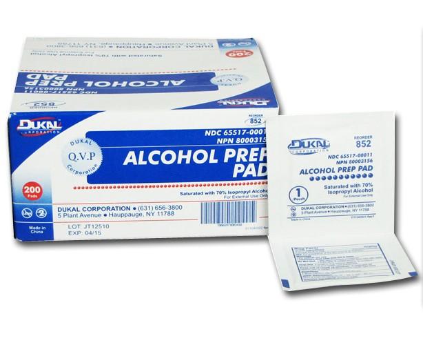 Dukal Dukal Alcohol Prep Pads, Non-Sterile