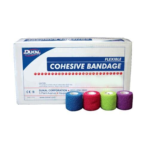 Dukal Cohesive Bandages, Non-Sterile