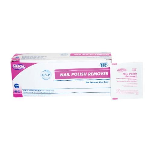 Dukal Nail Polish Remover Pads