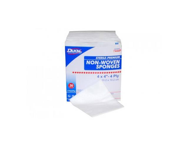 Dukal Dukal Non-Woven Gauze Sponges, 4-ply, Sterile