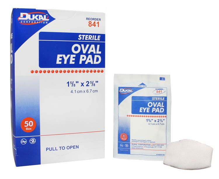 Oval Eye Pads, Sterile
