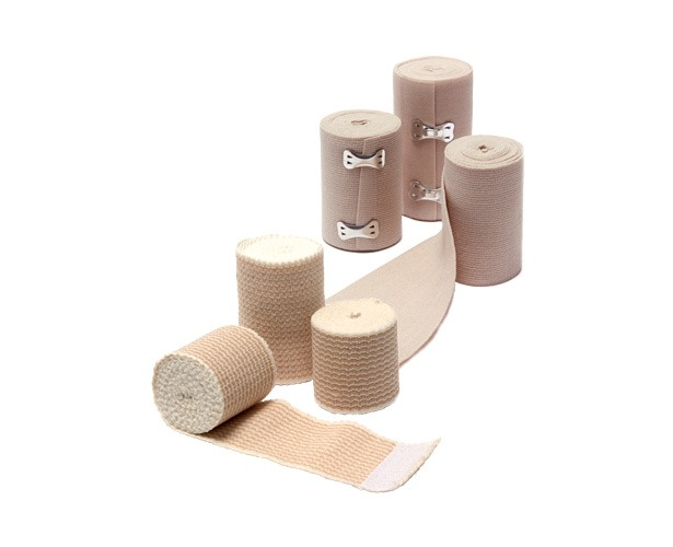 Dynarex Pro Advantage Elastic Bandages with Clips