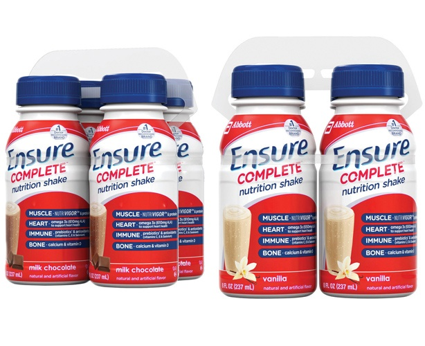 ENSURE NUTRITION Ensure Complete Drink, Bottles