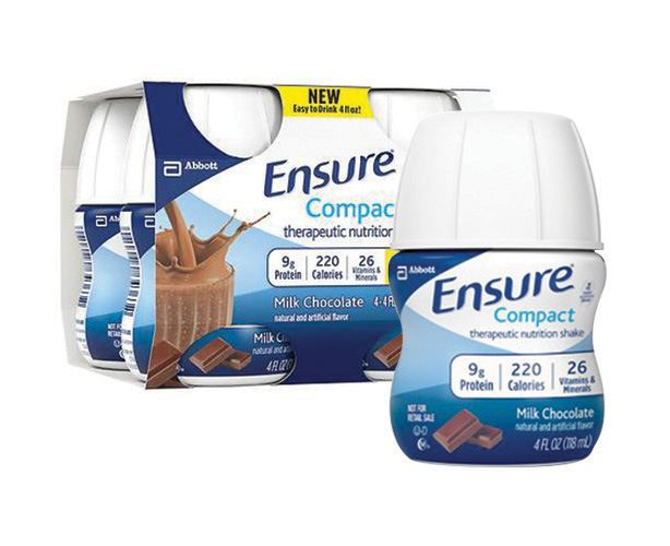 ABBOTT NUTRITION Ensure Compact, Chocolate, Case