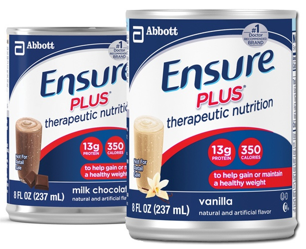 Abbott Nutrition Ensure Plus Cans
