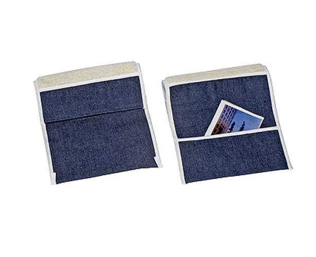 Wheelchair Fleece Armrest and Pouch