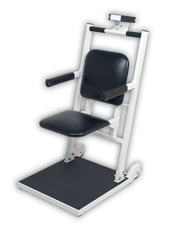 Detecto 6876 Flip Seat Bariatric Chair Scale