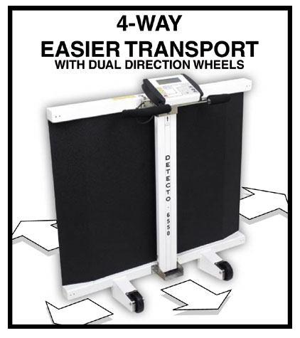 detecto 6550 wheelchair scale manual
