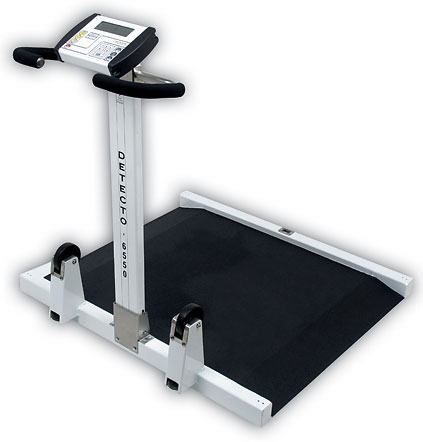 Detecto Folding Portable Wheelchair Scale 6550