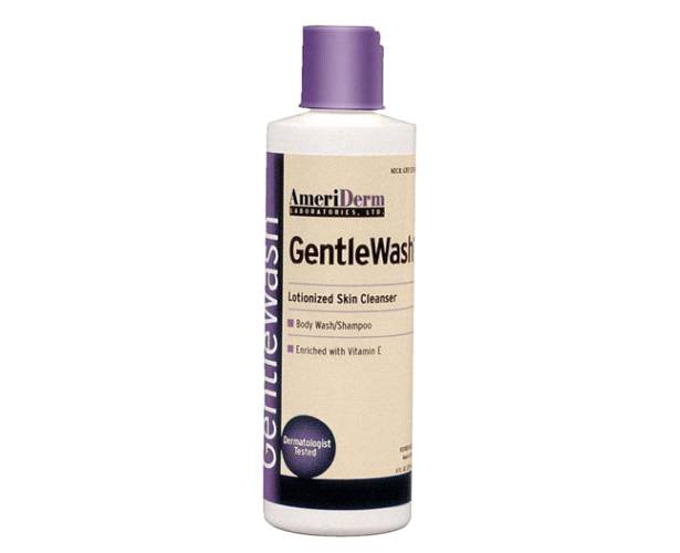 Gentle Wash Body Wash and Shampoo, 8 oz.