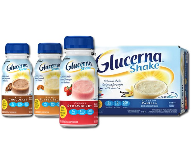 Abbott Nutrition Glucerna Shake, Bottles