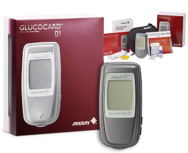 Arkray USA Glucocard 01 Blood Glucose Meter