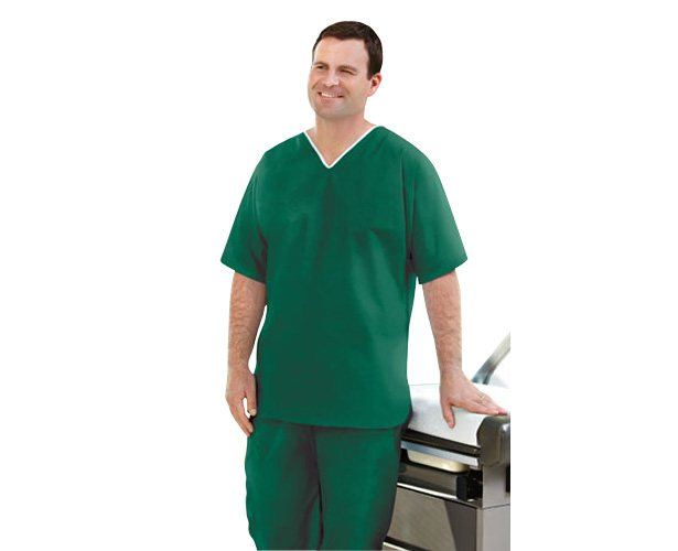 Graham Medical Graham Medical Disposable Elite Non-Woven Scrubs, Shirt