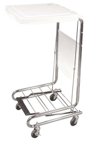 Drive Medical Hamper Stand with Non-Slip Pedal