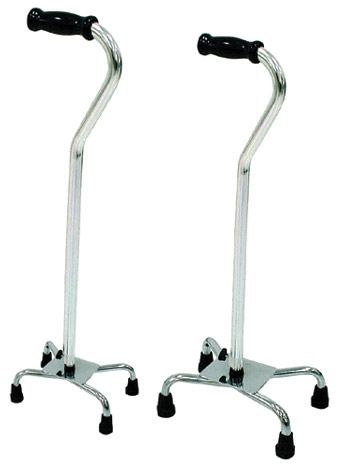 Drive Medical Bariatric Heavy Duty Steel Base Quad Cane