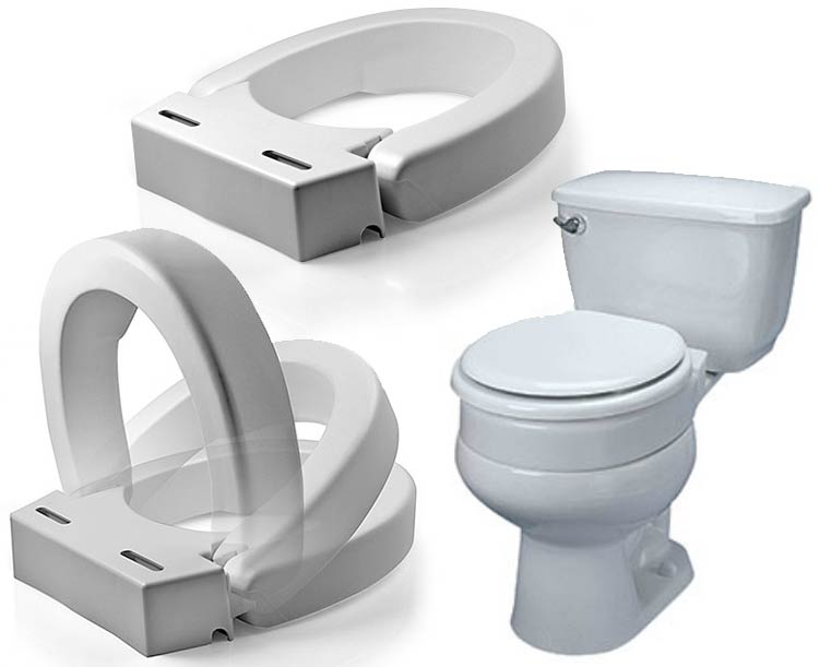 MADDAK ABLEWARE Hinged Elevated Toilet Seat