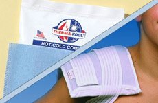 Nortech Labs Therma-Kool Reusable Hot/Cold Compress with Freedom Wrap