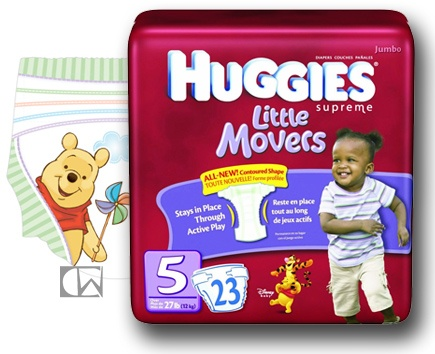 Huggies Supreme Little Movers