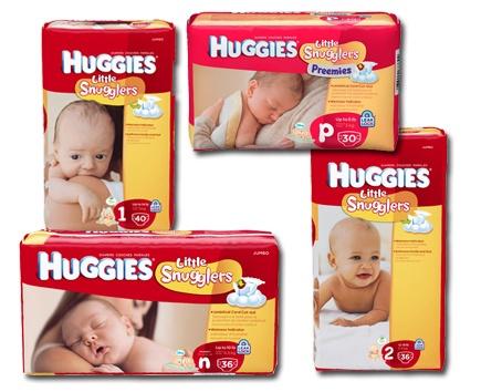 Kimberly Clark Huggies Little Snugglers Baby Diapers