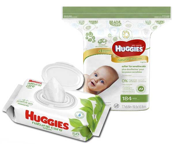 Huggies Huggies Natural Care Wipes
