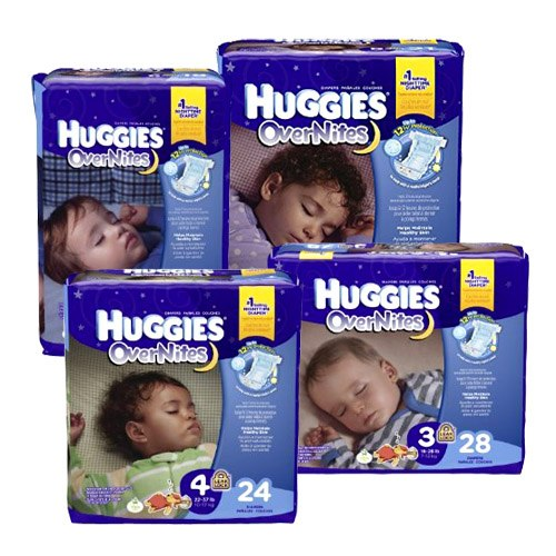 Huggies Huggies Overnite Diapers
