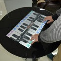 Waiting room interactive tables by Artificial Sky are perfect for hospitals and offices.