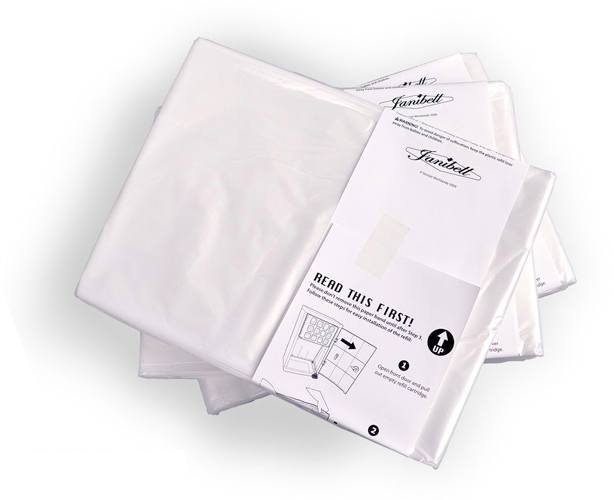 JANIBELL DISPOSAL SYSTEMS Janibell 3 Pack Liner Refills for 280 Series