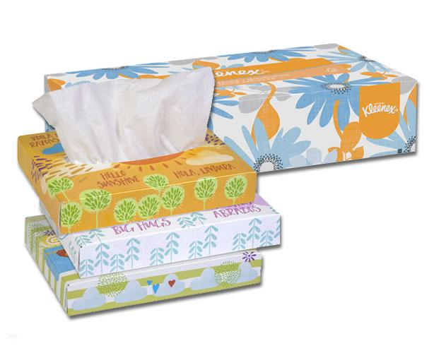 Kimberly Clark Kleenex Facial Tissue, 2-ply