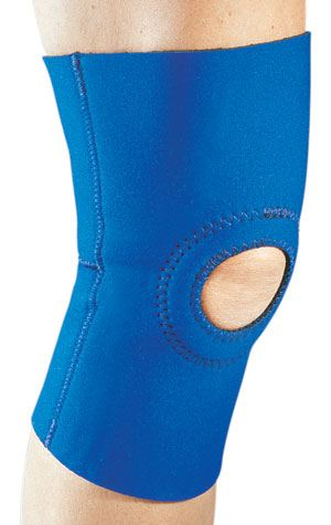Knee Support Brace with Reinforced Patella