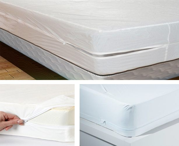 Zippered Vinyl Mattress Cover