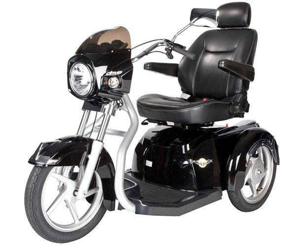 Drive Medical Maverick Executive Three Wheel Power Scooter