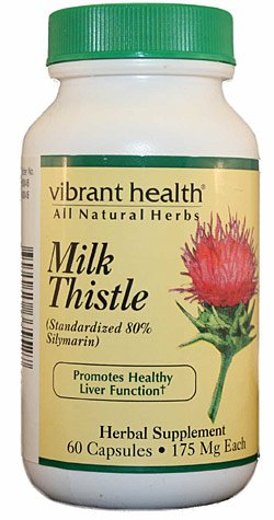 Vibrant Health Milk Thistle VIBHLTH-ML