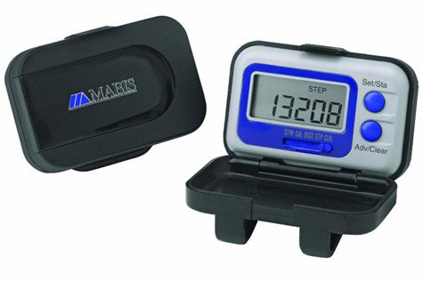 Mabis DMI Mini Calorie Pedometer with Protective Case