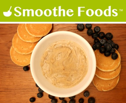 Smoothe Foods Puree - Pancakes with Blueberries & Ricotta