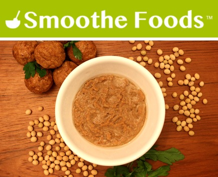 Smoothe Foods Swedish Meatballs Puree