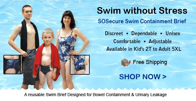 SoSecure Swim Brief Swim Diapers