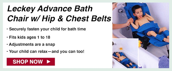 Leckey Advance Bath Chair with Hip & Chest Belts at CWI Medical
