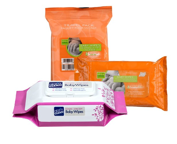 Professional Disposables Nice'n Clean Baby Wipes (Scented)