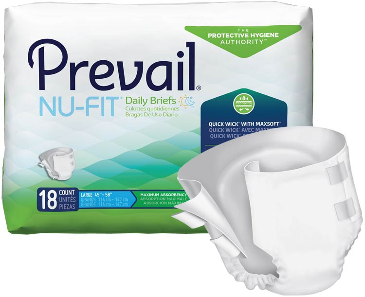 First Quality Products Nu-Fit Adult Briefs
