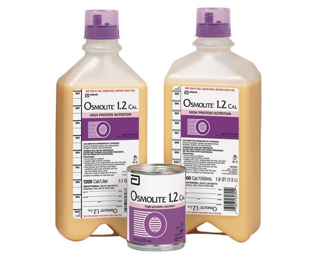 Abbott Nutrition Osmolite 1.2 Cal Tube Feeding Formula (Clearance)