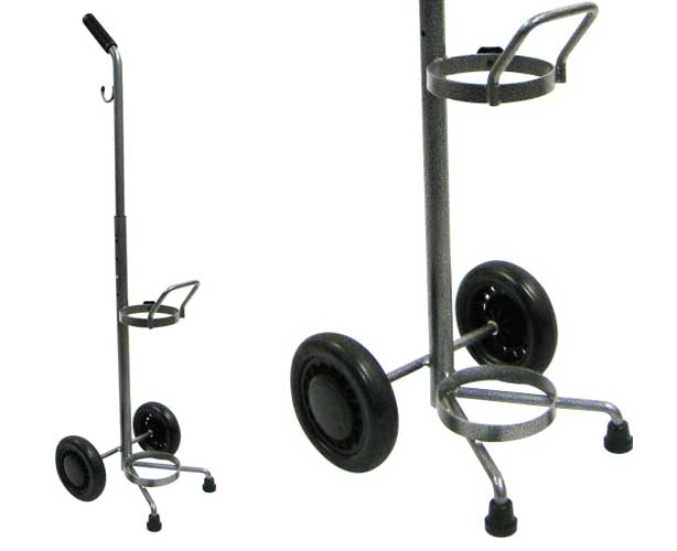Drive Medical Adjustable Oxygen Cart