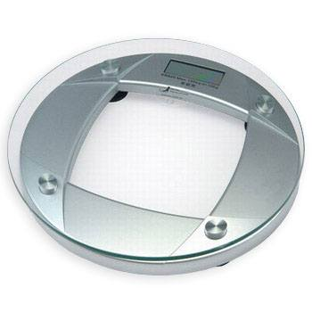 Newline Newline Digital Round Glass Bathroom Scale